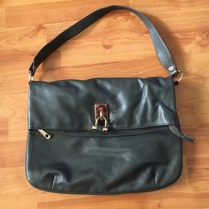 Shoulder gray bag